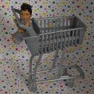 Barbie Toy Store Playset Shopping Cart Part