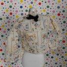 Vintage Barbie Skipper Best Buy Peasant Country Blouse Shirt