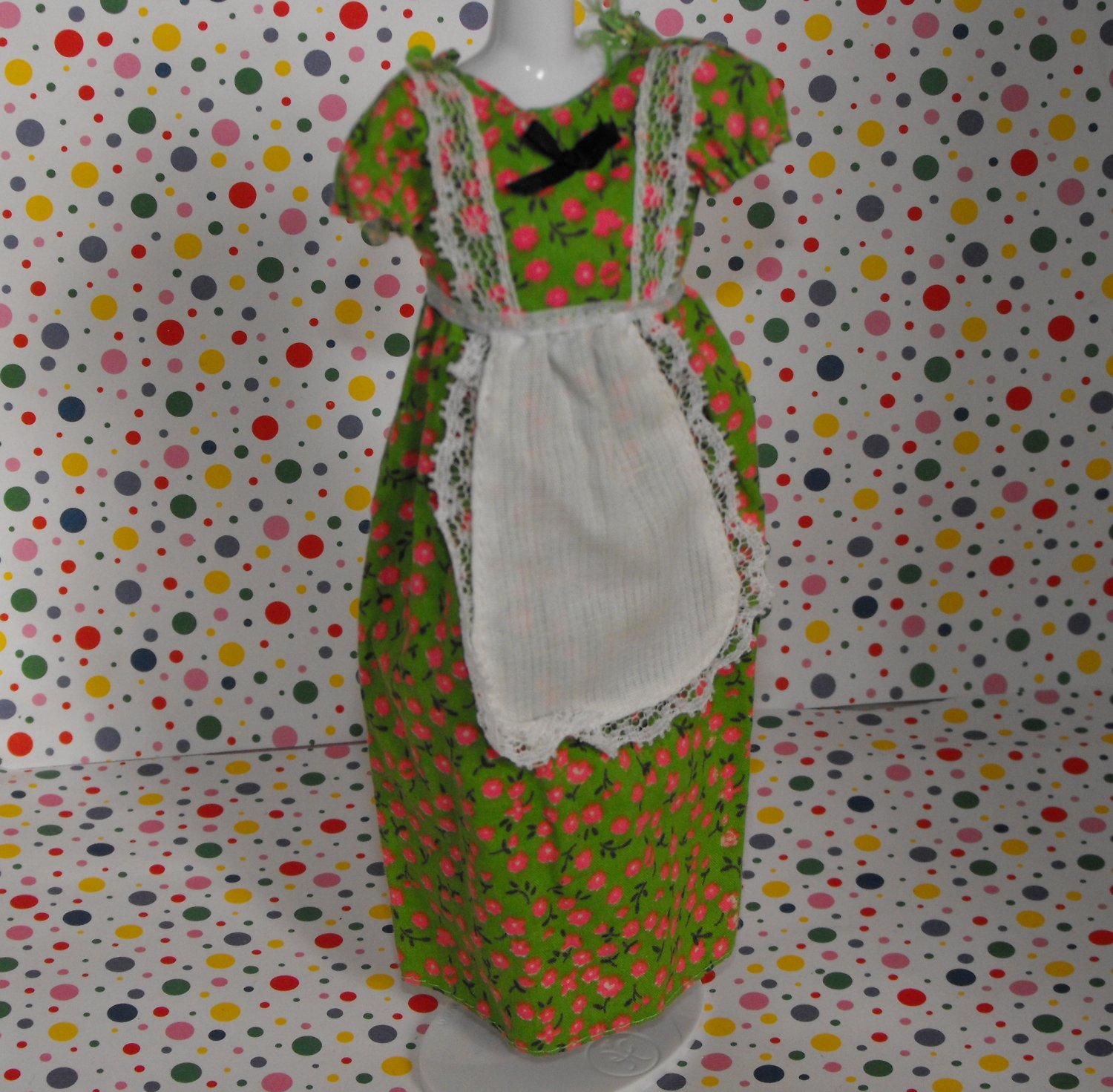 Vintage Skipper Best Buy #9125 Peasant Country Dress 1976