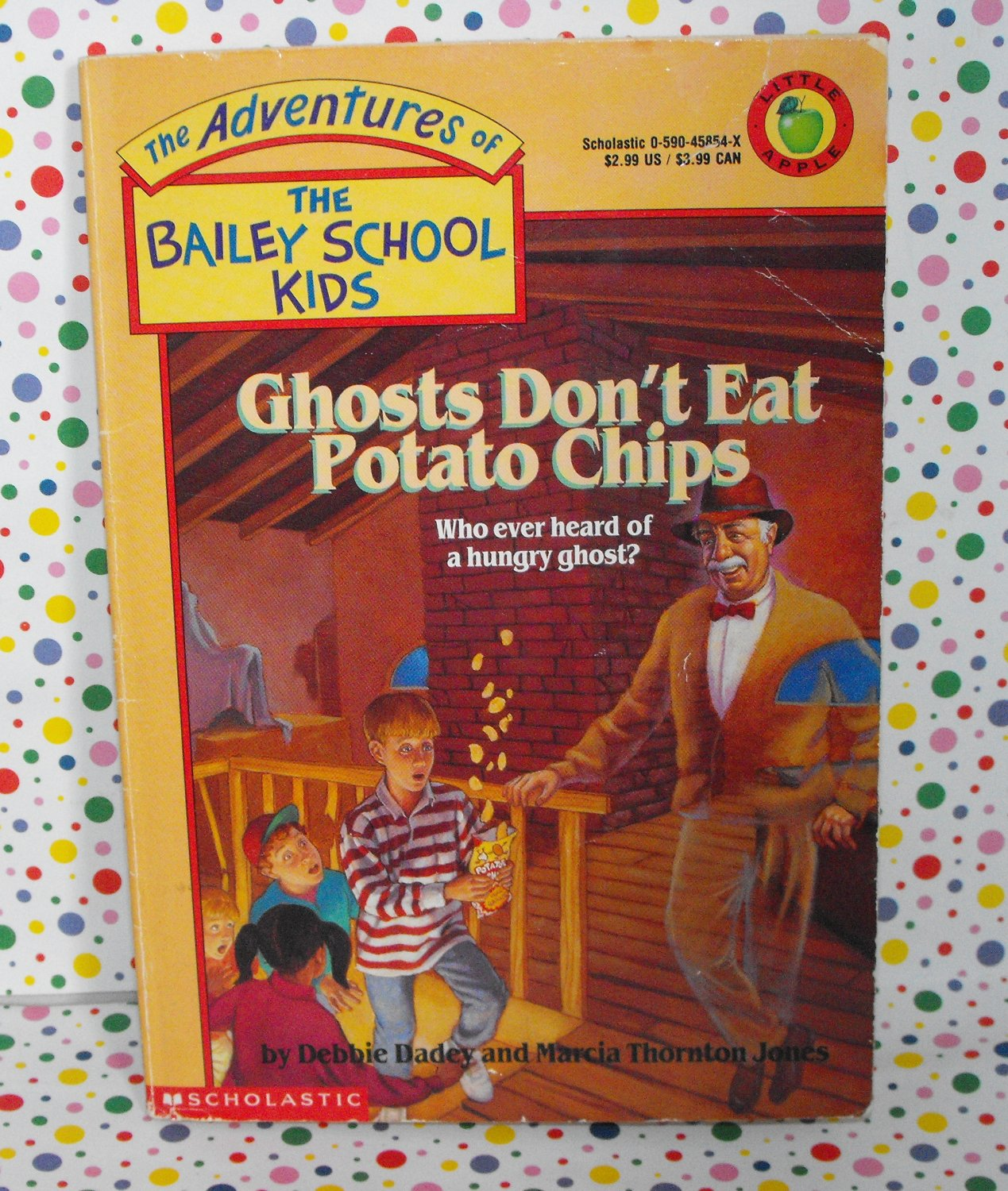 Bailey School Kids Ghosts Don't Eat Potato Chips #5