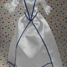 Barbie Pink Label Blue and White Gown Dress