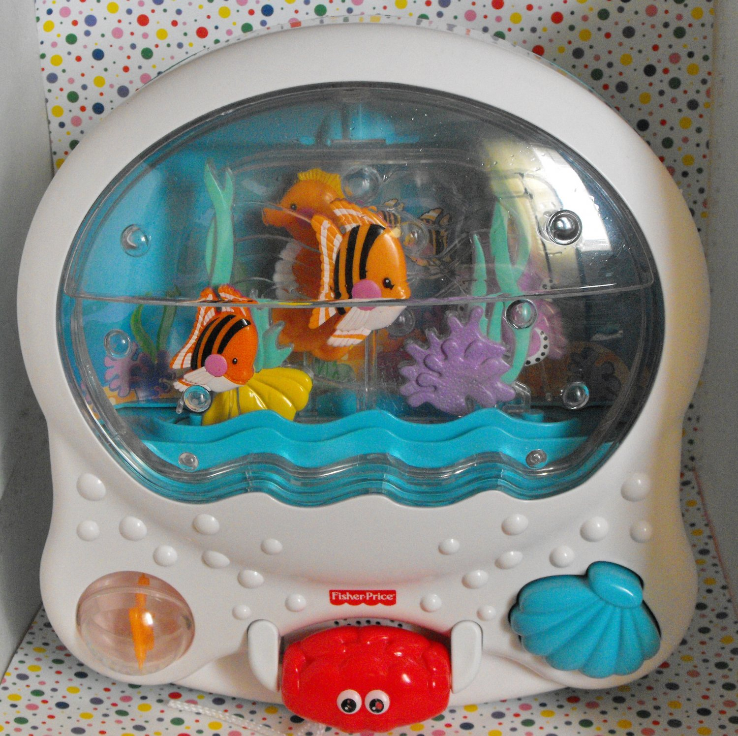 1 12 sold fisher price ocean wonders musical aquarium for Fisher price fish bowl
