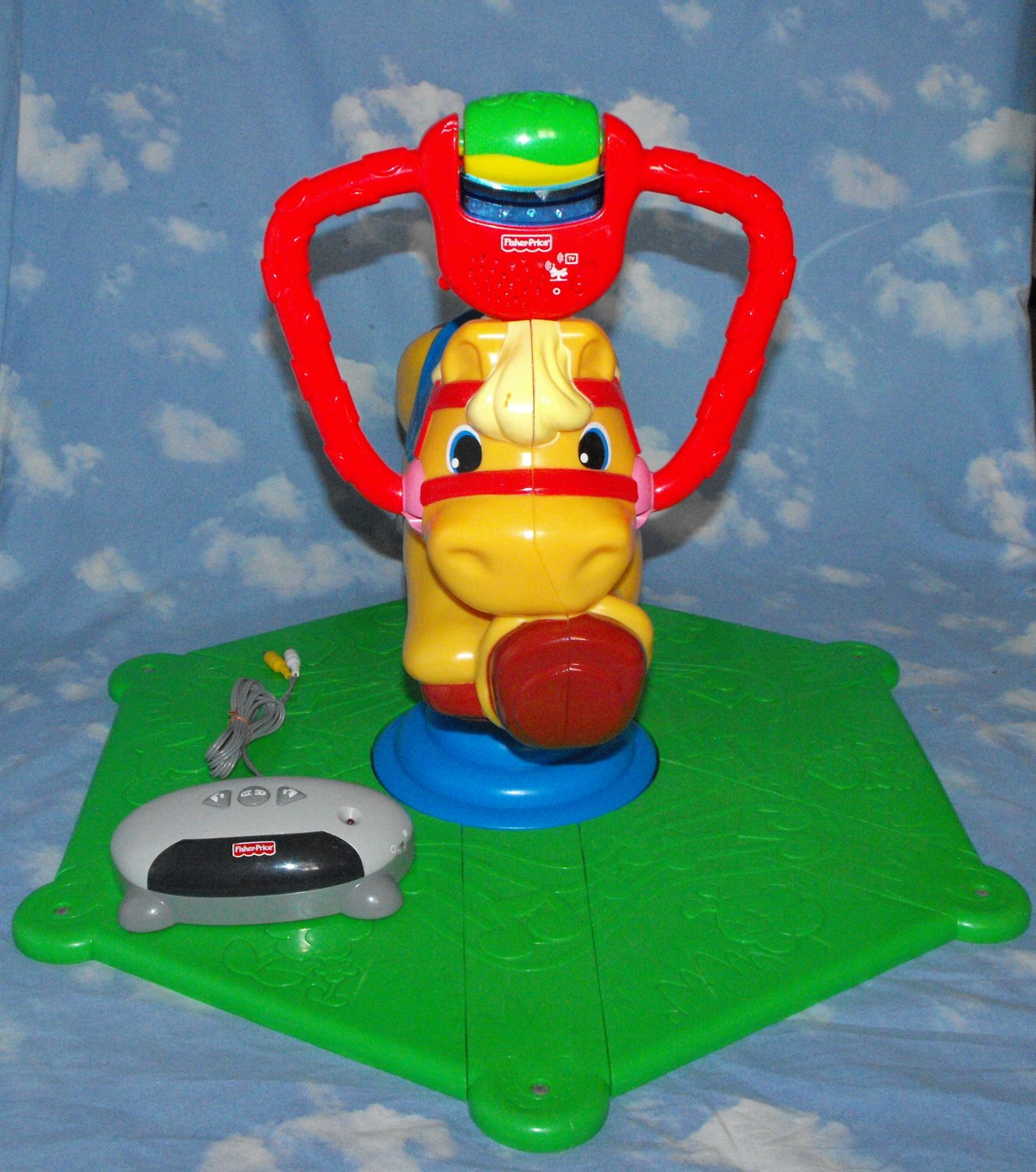 11*SOLD~Fisher-Price Laugh & Learn Smart Bounce & Spin Pony