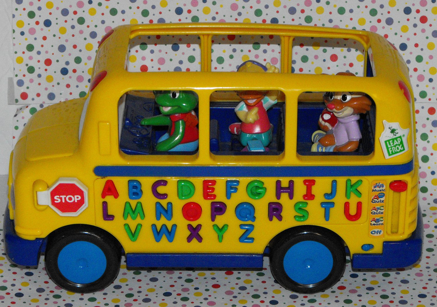 Sold Leapfrog Fun And Learn Phonics Bus