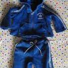 Bitty Baby Doll Blue Jogging Suit Outfit