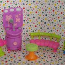 Mattel Polly Pocket Totally Trendy Pets Paw Spa Playset Parts