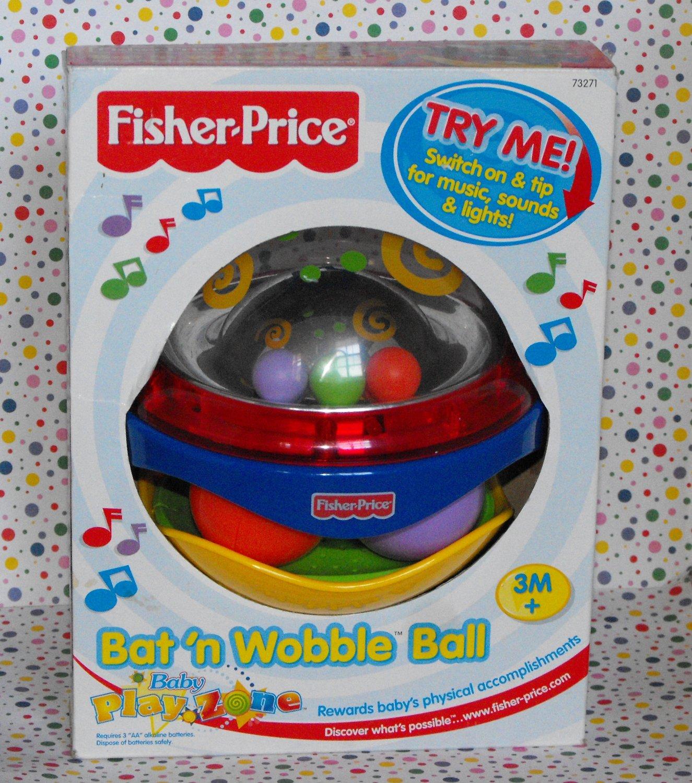 *SOLD~Fisher Price Baby Playzone Bat 'n Wobble Ball