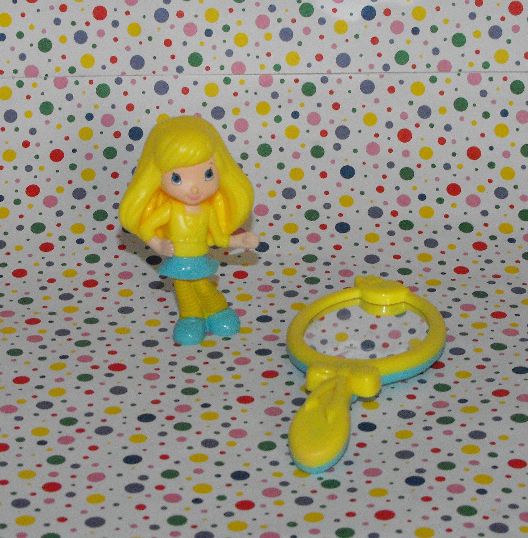 McDonald's Strawberry Shortcake 2010 Lemon Meringue Figurine Happy Meal Toy