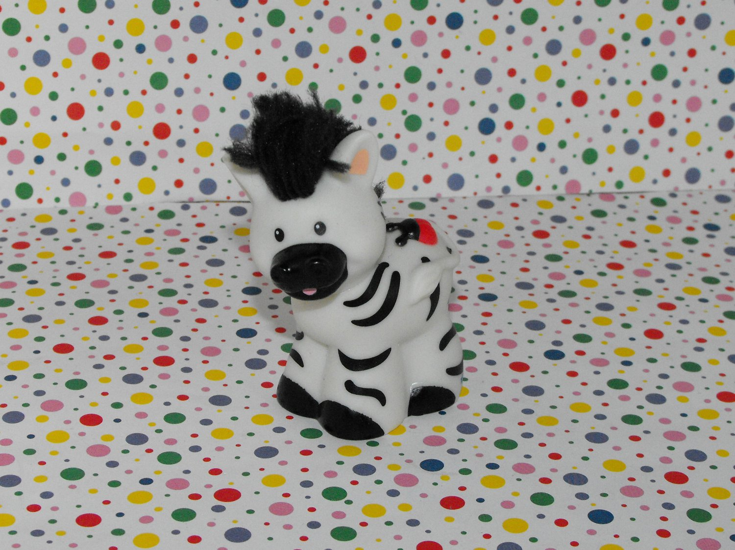 Fisher Price Little People Zoo Ark Touch and Feel Zebra Part