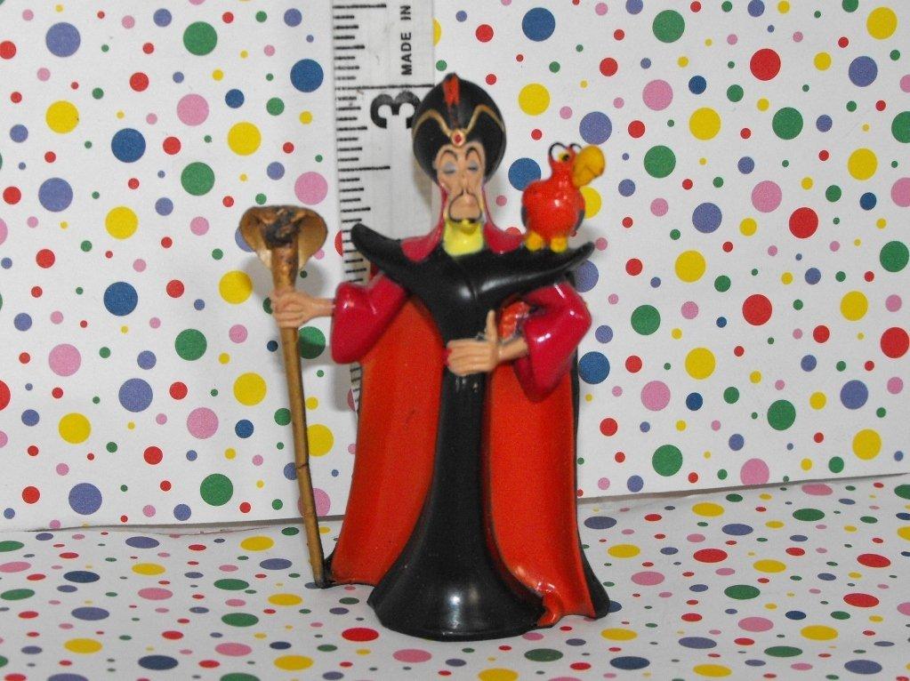Disney Aladdin Jafar and Iago Figure
