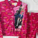 Girls Size 7/8 High School Musical Flannel Pajamas Pj's
