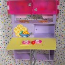 Barbie All Around Home Afternoon Snack Playset Hutch/Table Part