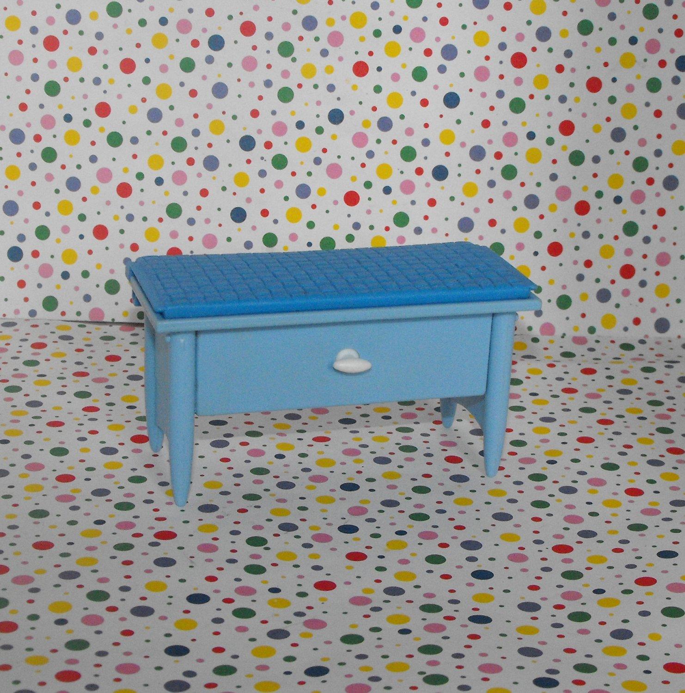 Barbie Decor Collection Blue Bench / Storage Chest