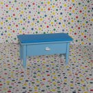 Barbie Decor Collection Blue Bench / Storage Chest