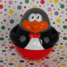 Playskool Weebles Penguin in Tuxedo Shirt
