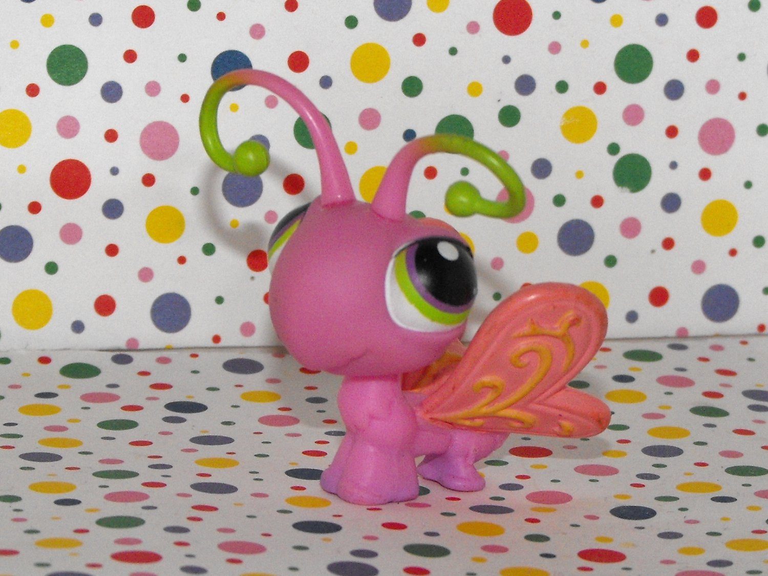 Littlest Pet Shop #413 Pink Butterfly~Kohl's Exclusive LPS