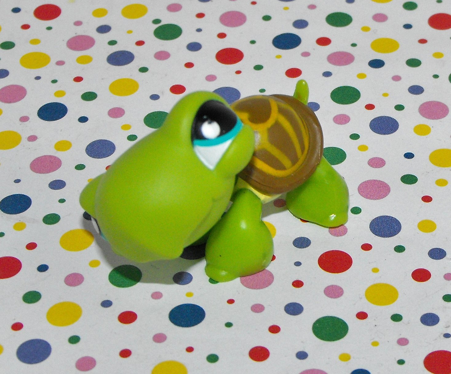 *8/14*SOLD~Littlest Pet Shop #230 Turtle~Seaside Celebration