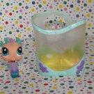 Littlest Pet Shop #142 Pink Seahorse LPS