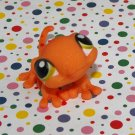 Littlest Pet Shop #326 Tropical Orange Gecko Lizard LPS