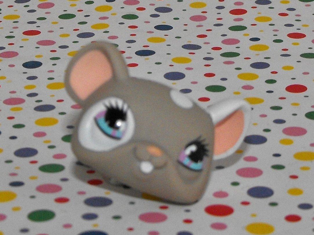 *2/15*SOLD~Littlest Pet Shop #473 Pet Nook Grey Mouse