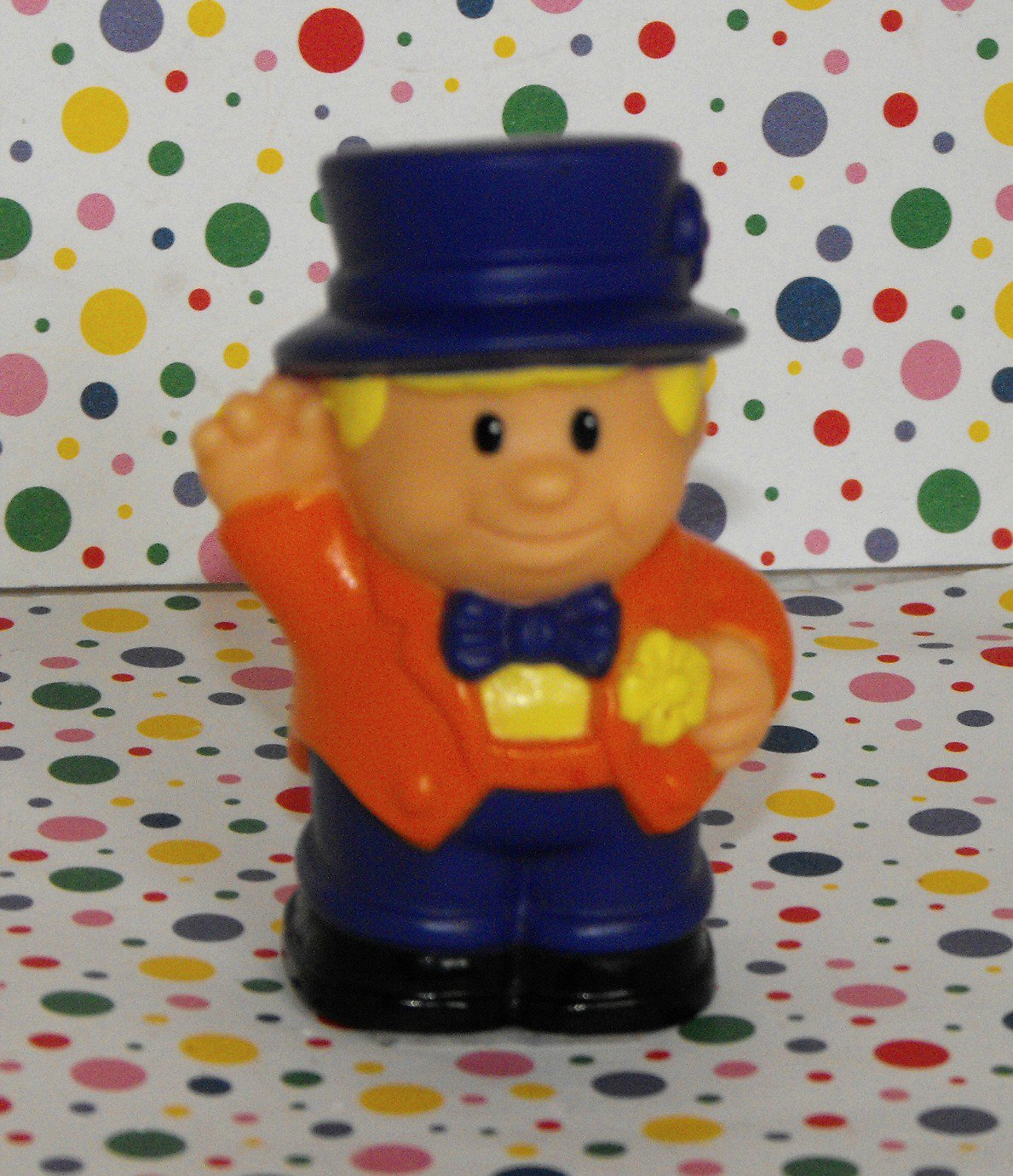 12*SOLD~Shelcore like Fisher Price Little People Circus Ringmaster