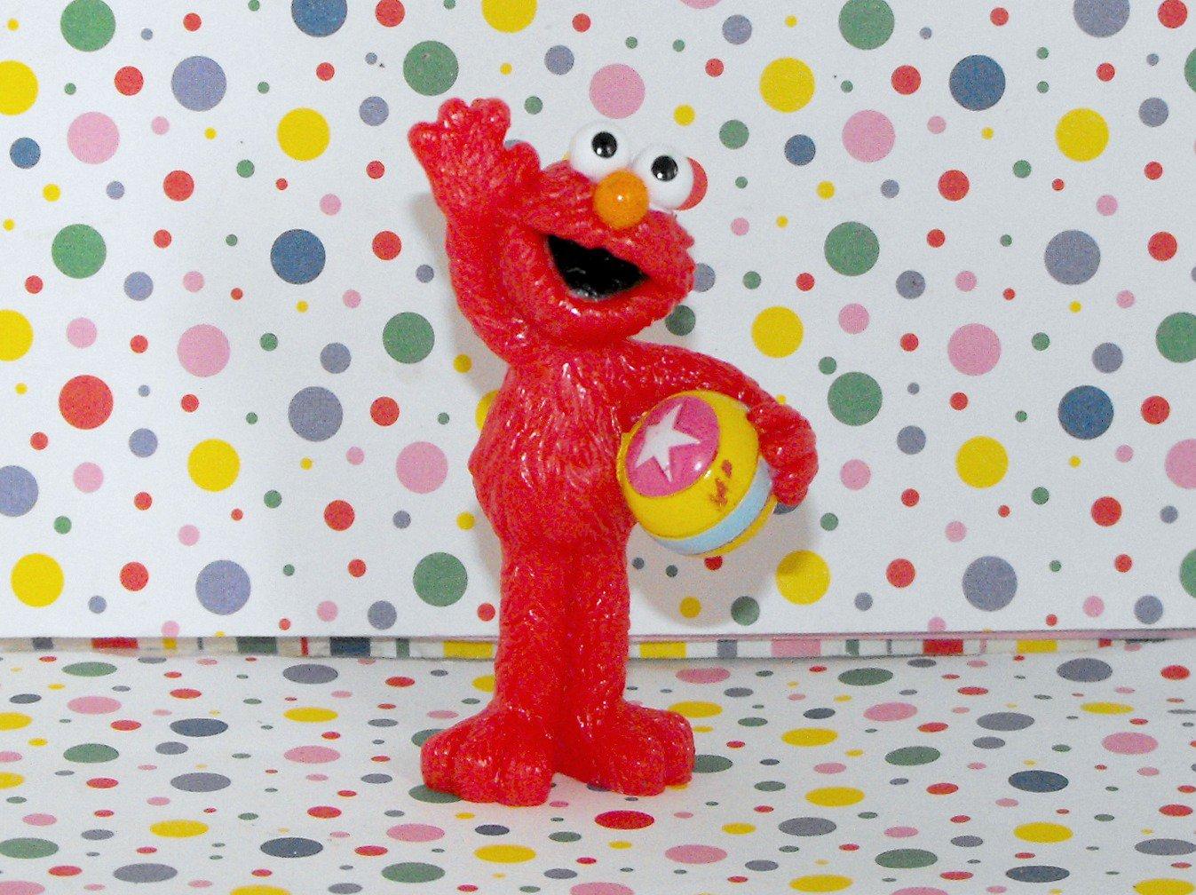 Fisher Price 1 2 3 Sesame Street Playhouse Play Set Elmo Figure