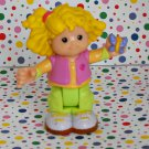 Fisher Price New Style Little People Sarah Lynn's Camping Adventure Girl Part