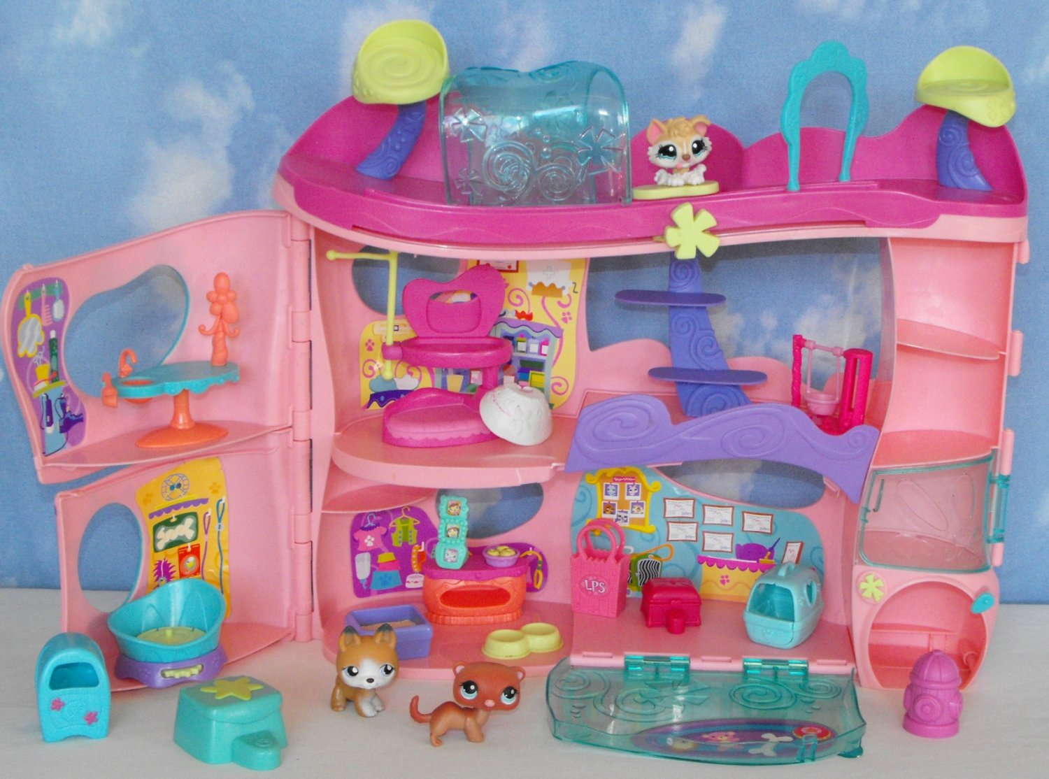 10 Sold Littlest Pet Shop Pet Cozy Care Adoption Center