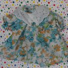Baby Doll Clothes Floral Dress Shirt Top