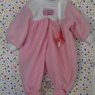 My Lil' Dream Baby Doll Clothes Pink Romper Outfit