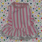 Mattel Little Miss Dress Up 1988 Pink Striped Dress