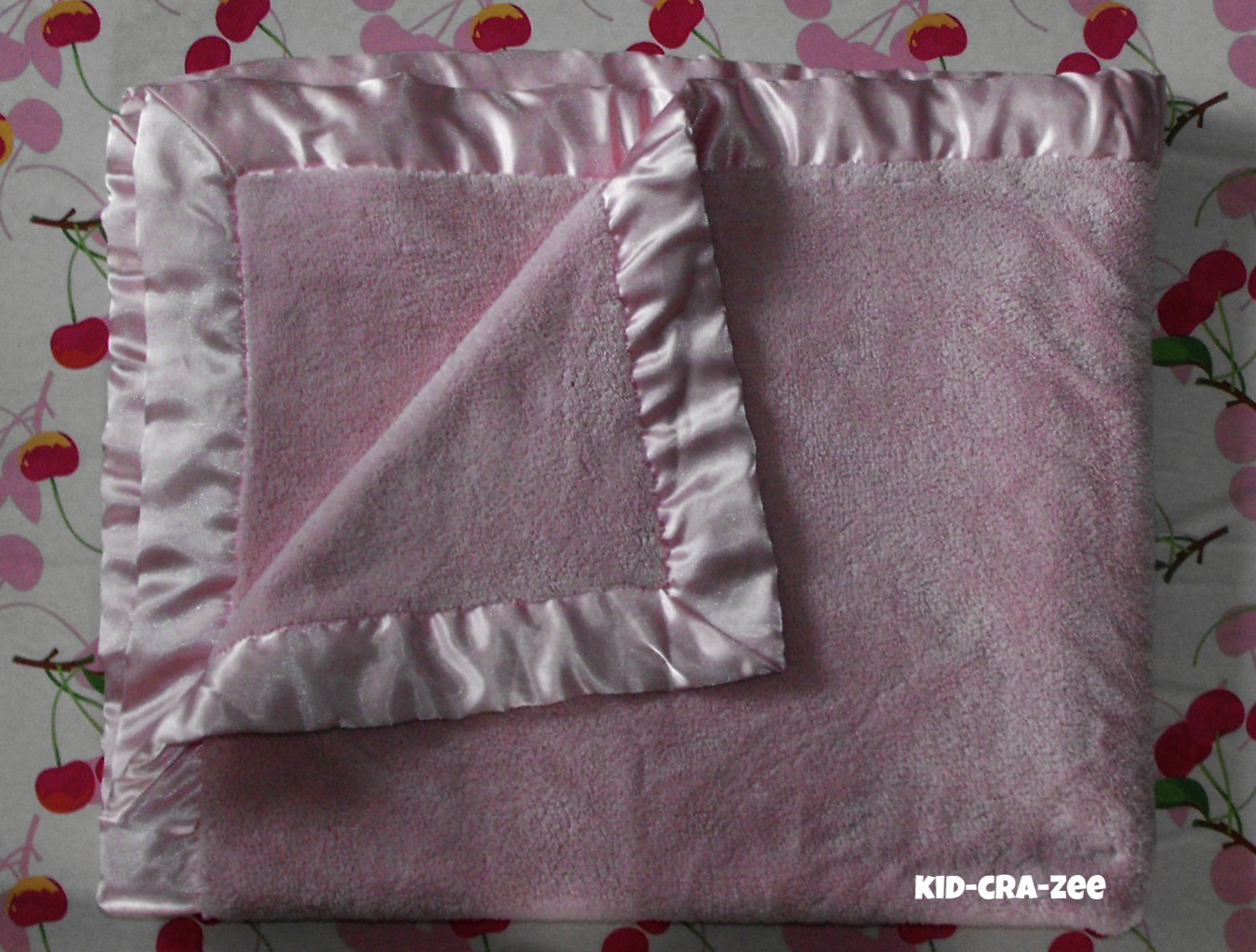 11*SOLD~Koala Baby Luxe Soft Satin Trim Blanket Girl Pink Security Lovey