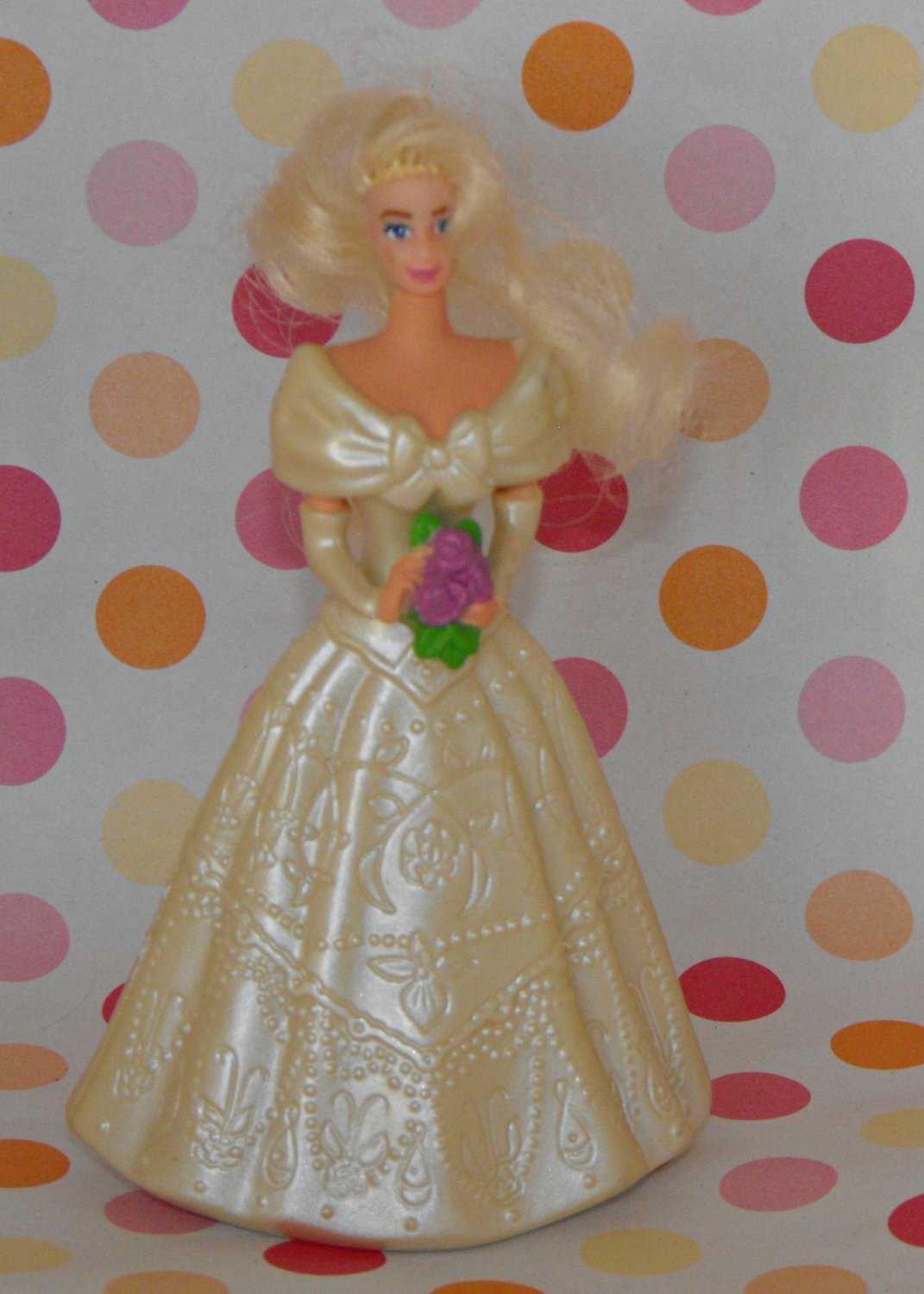 McDONALD'S BARBIE JEWEL AND GLITTER BRIDE