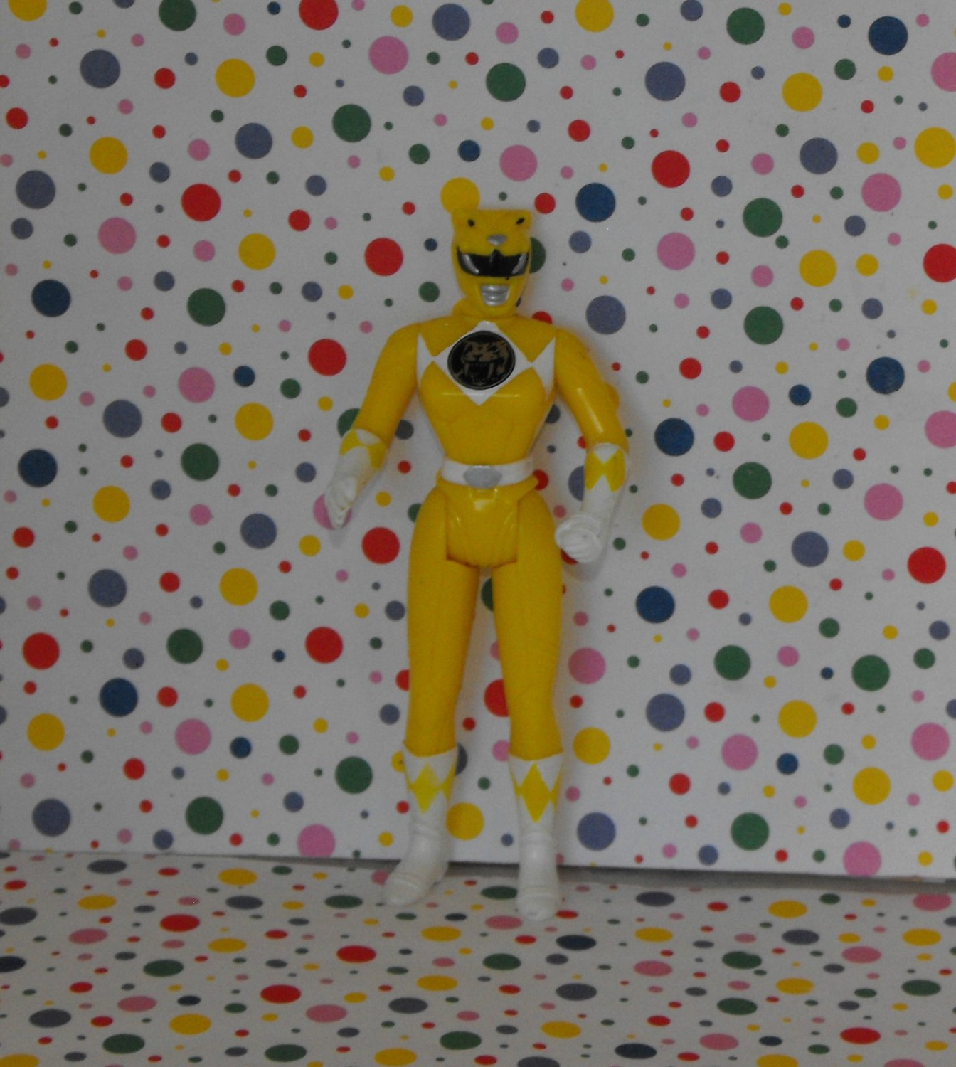 Saban Yellow Power Ranger Figure