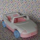 Playskool Play School Dollhouse White Pink Car