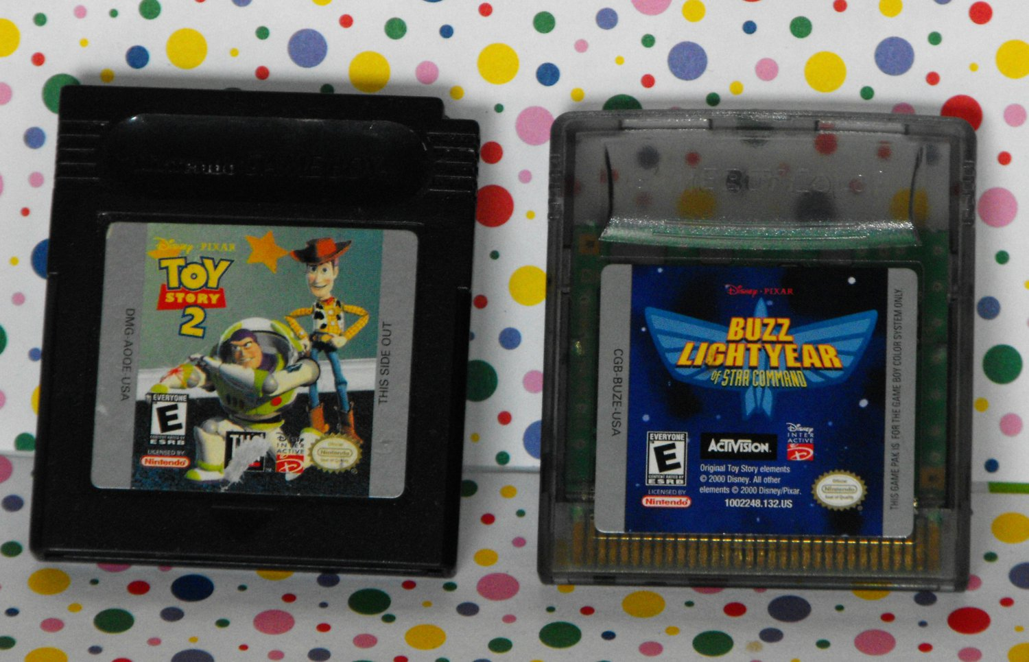 Disney's Toy Story 2 and Buzz Lightyear Game Boy Games Lot