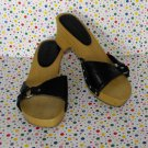Girls No Boundaries Black Strappy Heels Size 13 Costume