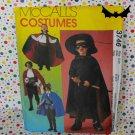 Masked Avenger, Pirate, Swashbuckler, Vampire Costume Pattern McCall's 3746