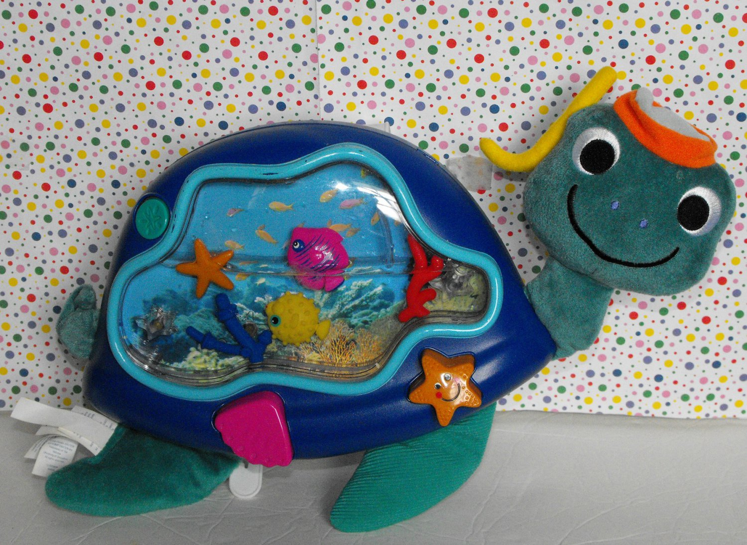 Baby Einstein Baby Neptune Turtle Soothing Seascape Crib Toy
