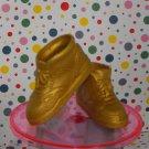 Barbie Ken 80's Gold Sneakers High Top Shoes