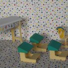 Barbie Kelly Learn and Play Preschool Classroom Playset Dollhouse Furniture