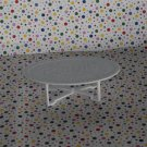 Barbie Dollhouse Oval Coffee Table Part Dollhouse Furniture