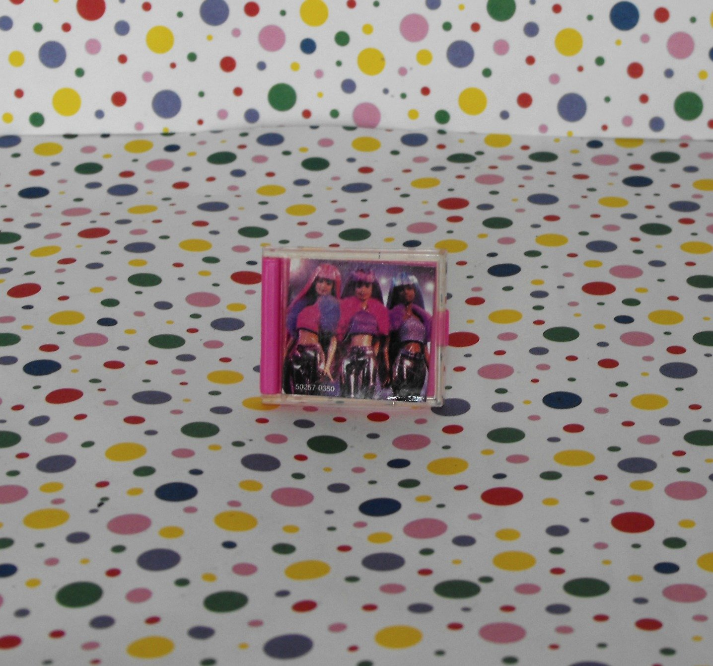 Barbie Jam �N Glam Barbie CD Jewel Case