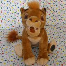 Disney's The Lion King Platinum Edition Simba Beanie Stuffed Plush Simba
