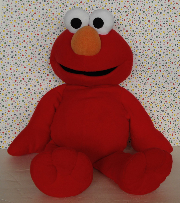 12 Sold Fisher Price Big Book Elmo Large Stuffed Plush Elmo