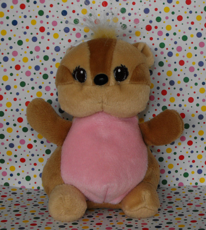 Lee's Babies Beanie Baby Chipmunk Squirrel Toy Plush Lovey