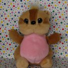 Lee's Babies Beanie Baby Chipmunk Squirrel Toy Plush Lovey
