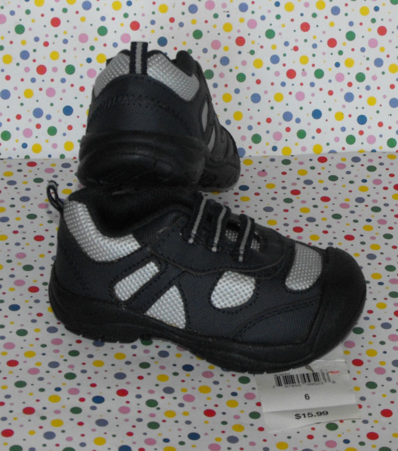 Okie-Dokie Baby Boys Size 6 Sneakers Shoes