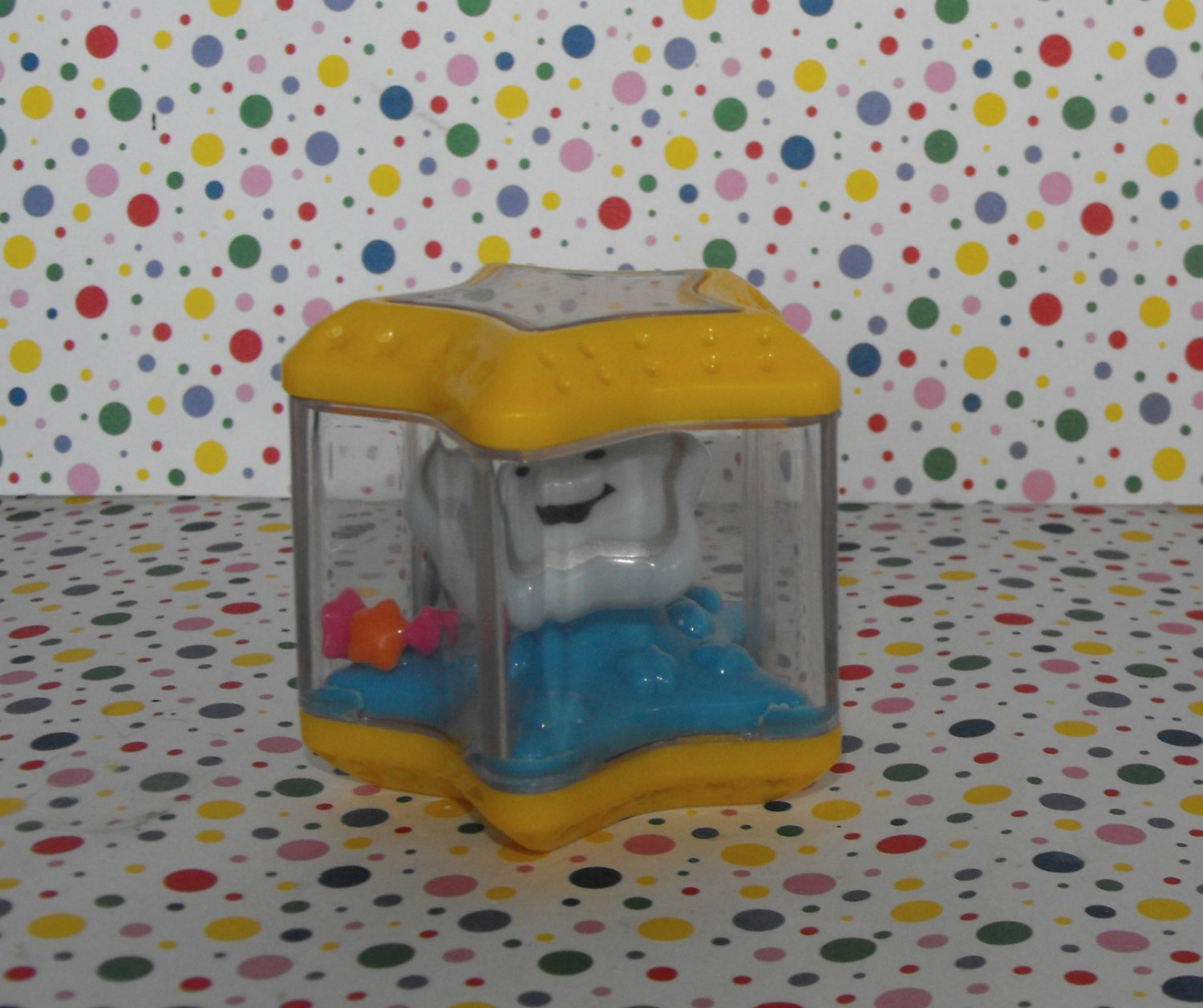 *9/14*SOLD~Fisher Price Peek Shape Sorter Star Block