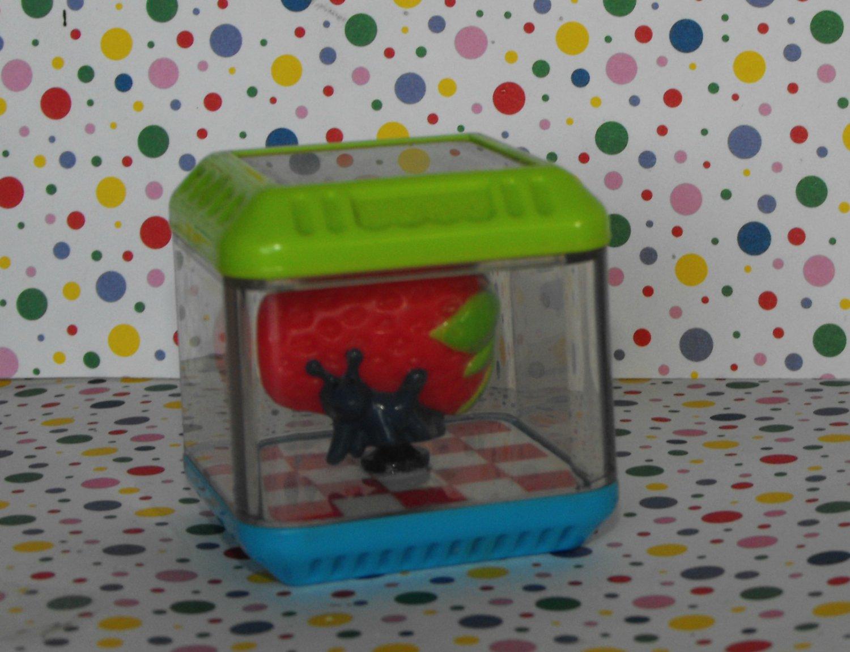 Fisher Price Peek A Blocks Gobble n' Go Hippo Food Block Strawberry Part